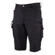 Worksafe Serviceshorts 4 waystretch, black, C44