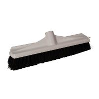 Dan-Mop® Broom w/thread, white plastic, 35 cm