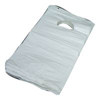 Carrier Bag, w/handle, 18,5x32 cm, white