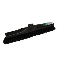 Broom w/socket, 30 cm, black
