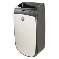 WeCare® Garbage Can stainles steel, Wall mounted, 40 L