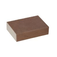 Green-Tex® All-purpose sanding sponge, grit 280 fine, pack of 5