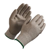 WeCare® Cut resistant glove, white/green, size 8/M