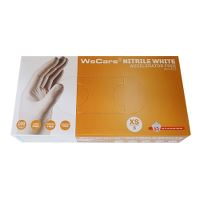 WeCare® Acc.free Single-use glove nitril powderfree white 6/XS