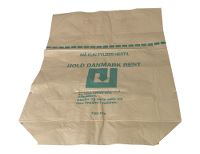 Paper bag, 2 ply, 70x95/25cm, brown