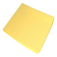 Green-Tex® All Purpose Cloth, light, yellow, 38 x 38 cm, carton of 100