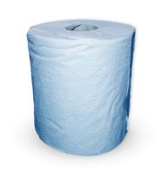 WeCare® Wipe paper towel, 1-layer, blue, 300 m