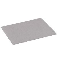 Green-Tex® Abrasive fiber pad, white, pack of 10