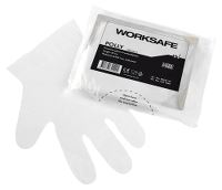Worksafe Single-use glove in PE, 8