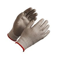 WeCare® Cut resistant glove, white/red, size 6/XS