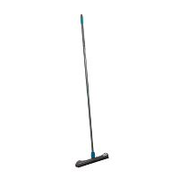 Broom with rubber trim and telescopic handle 85-150 cm