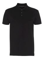 Stadsing Stretch Polo, black, L