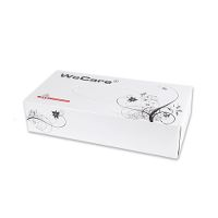 WeCare® Tissue box, 2-ply, white, 100 sheets