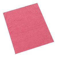 Green-Tex® Handy Light, microfibre cloth, red, 38 x 38 cm, pack of 15