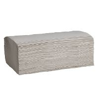 WeCare® towel Z-fold, 1-ply, nature, 23x23cm