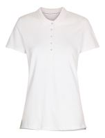 Stadsing Stretch Polo Lady, white, M