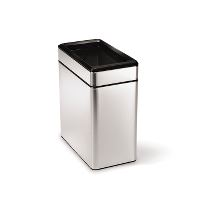 Garbage can, stainles steel, 10 L