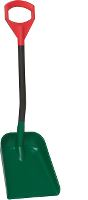 Snow shovel, 55cm, alu handle