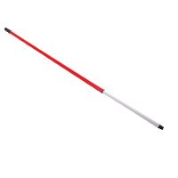 Telescopic handle 120-180 cm, Alu and PP thread, red
