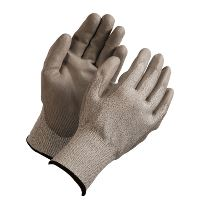 WeCare® Cut resistant glove, white/red, size 10/XL