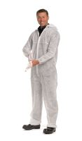 Worksafe single-use suit, PP coverall, size L, white
