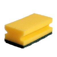 Green-Tex® Nylon sponge, green, pack of 10
