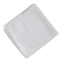 Green-Tex® Kitchen Star, microfibre cloth, white, 38 x 38 cm, pack of 5