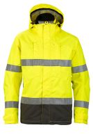 Worksafe Shell jacket, L, hi-vis yellow