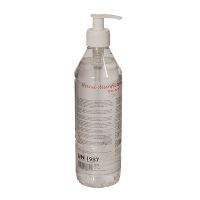 WeCare® Hand Disinfection Gel 85%, no perfume, w/pump, 500 ml