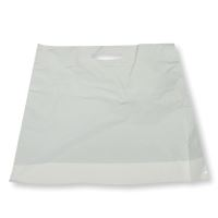 Carrier Bag, 40x45/5, LDPE, white, 45my