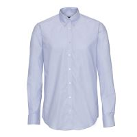 Stadsing Mens Shirt, Light Blue, slim, 41/42, L