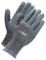 Worksafe nitrile dipped glove, 9