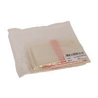 Hot water soluble bags, 25 microns, 40-45 l, 42 x 65 cm, 25 pcs