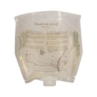 WeCare® Neutral Soap, Nordic Swan Ecolabel, no perfume, bag, 800ml