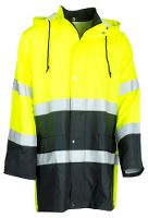 Worksafe Raincoat yellow/black, S
