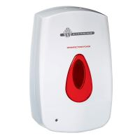 WeCare® sensor dispenser for foam disinfection, red drop, 800 ml