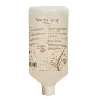 WeCare® Neutral Soap, Nordic Swan Ecolabel, no perfume, 1 L