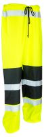 Worksafe Rain Pants, hi-vis yellow/black, L