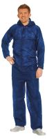 Worksafe single-use suit, PP coverall, L, blue