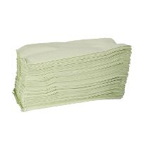 WeCare® c-fold 1 ply. Green