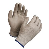 WeCare® Cut resistant glove, white/blue, size 7/S