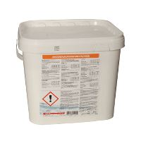 Washing powder with enzymes, bucket 8 kg.