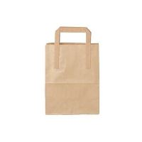 Carrier Bag paper, brown, 6l, 180 x 105 x 230 mm