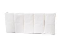 WeCare® Pocket tissue, 2-ply, white, pack of 10