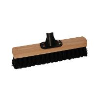 Dan-Mop® Platform Broom w/socket, synthetic, 30 cm, 50 mm trim
