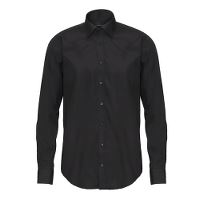 Stadsing Mens Shirt, Black, slim, 41/42, L