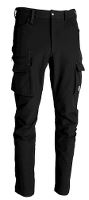 Worksafe Mens Servicepants 4 Waystretch, black, C50
