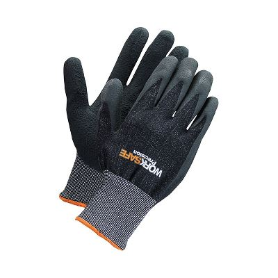 Worksafe Latex dipped nylon glove, 10
